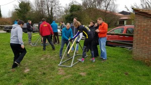 construction catapulte
